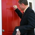 man door knocking
