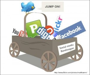 social media in wagon