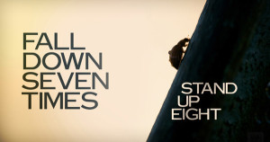 motivation fall down stand up